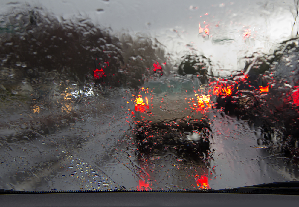 rainy driving tips