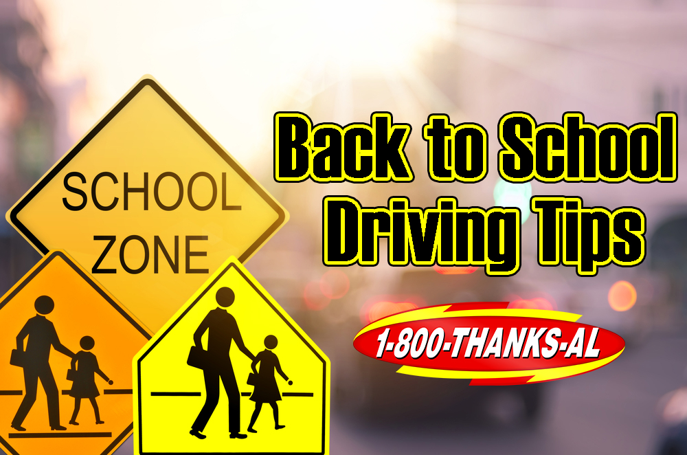 back to school driving tips al boenker