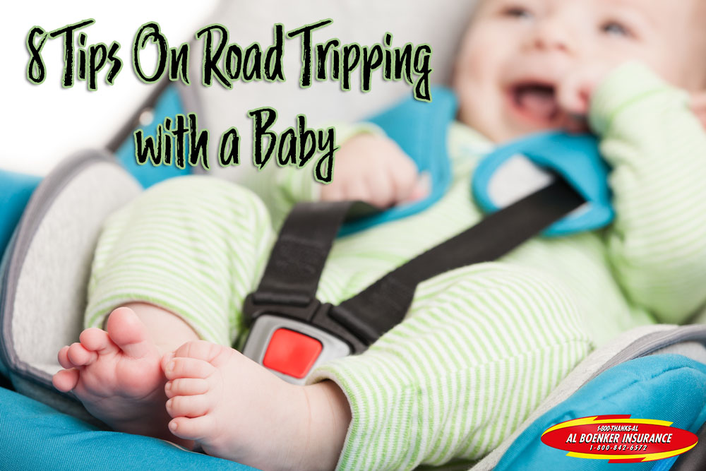 road tripping tips with a baby al boenker insurance