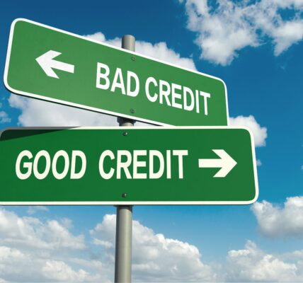 bad credit score or good credi score can affect your car insurance rates or premium
